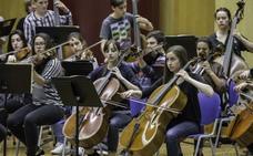 La Joscan prepara en Viérnoles el concierto que dará el domingo en el FIS