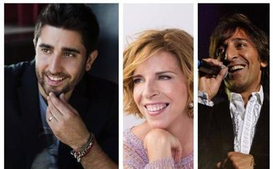 Álex Ubago y Antonio Carmona con Sole Giménez protagonizarán los conciertos solidarios del Festival de las Naciones