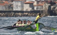 Seis traineras vascas salvan el Campeonato de España