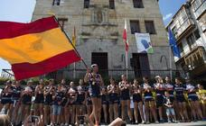 Urdaibai se lleva la bandera española a Bermeo
