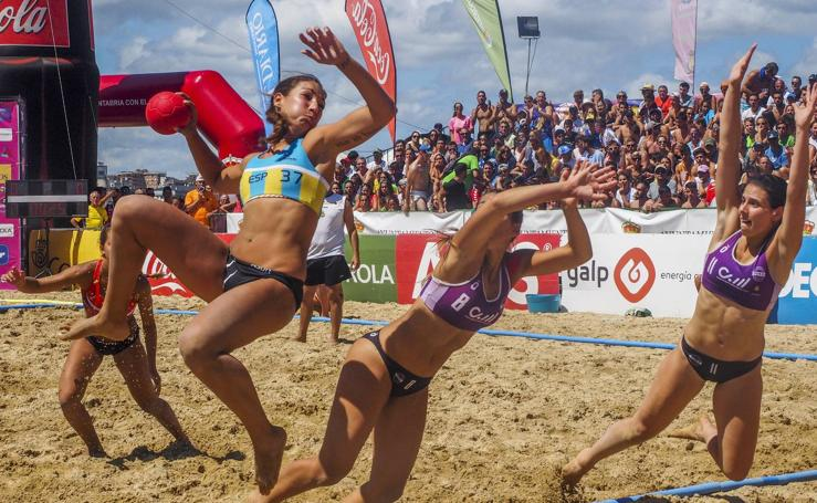La élite del balonmano femenino se reunen en Laredo