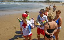 La normalidad vuelve a las playas de Suances tras dos días de restricciones
