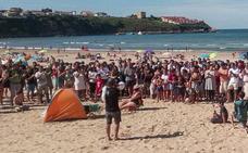 """Revilla espera que """"las playas de Suances vuelvan a la normalidad este mismo sábado"""""""
