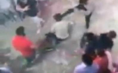 Una cámara recogió la agresión mortal al joven italiano en Lloret de Mar