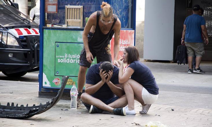 Atropello múltiple en Barcelona