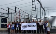 Vecinos de Solórzano, hartos de soportar el ruido que causa la subestación eléctrica