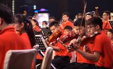 La Asian Youth Orchestra debuta este martes en el FIS