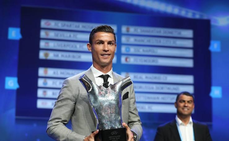 Los premios de la UEFA, en imágenes