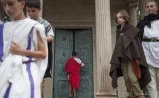 Ardor festivo de cántabros y romanos