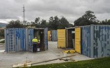 El proyecto para convertir contenedores en locales de ensayo sufre otro retraso