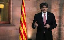 Puigdemont: «Lo que degrada a la democracia es no dejar votar»