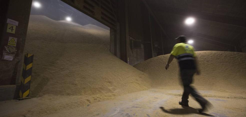 La sequía multiplica la importación de cereal en Cantabria