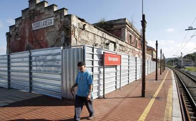 Nueve empresas pujan por rehabilitar la vieja estación de Renfe en Sierrapando