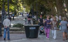 Protección en parques y plazas