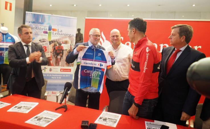 Induráin, padrino de la Lebaniega Jubilar Bike