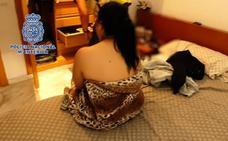 Liberadas siete jóvenes rumanas obligadas a ejercer la prostitución en Ibiza