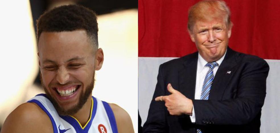 Trump contra el baloncesto y el fútbol americano