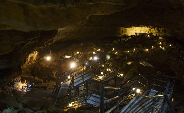 Nuevas excavaciones en El Pendo