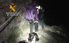 Rescatan a una británica de 64 años extraviada en el Valle de Asotín