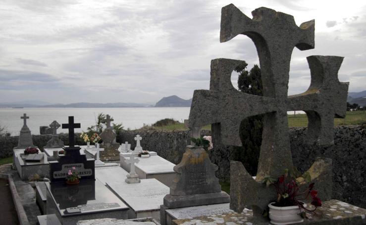 El arte en los cementerios en Cantabria