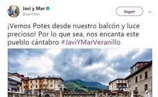Javi Nieves y Mar Amate se relajan en Potes