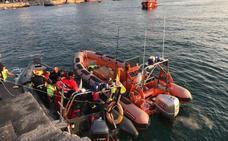 Fallece un pescador vizcaíno tras caer al mar en Cerdigo