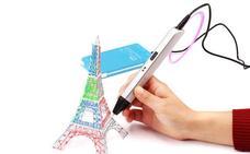 Crean un lápiz 3D para pintar sin folios