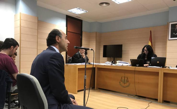 Imágenes del juicio por el escrache a Diego