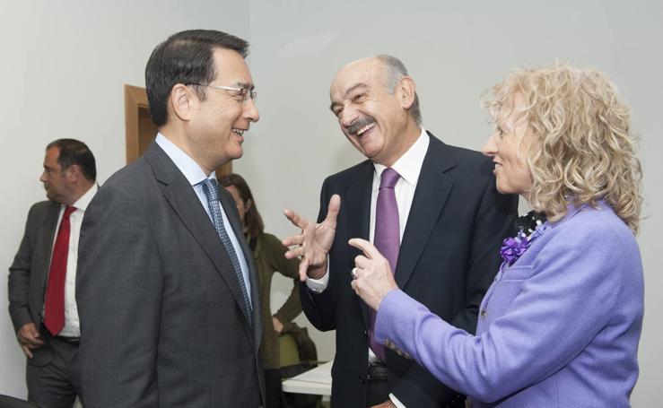 Encuentro empresarial entre Cantabria y China, en Sodercán
