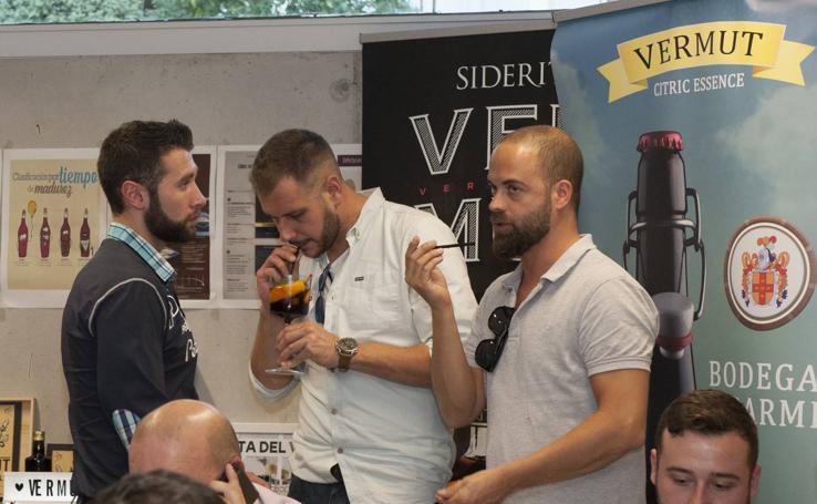 Cata de los cócteles candidatos al premio de la II Ruta del Vermut de Cantabria