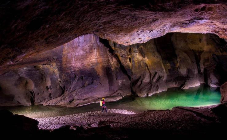 En las entrañas de las cuevas
