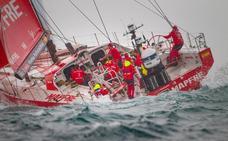 El 'Mapfre' se consolida en el primer puesto de la general en la Volvo Ocean Race