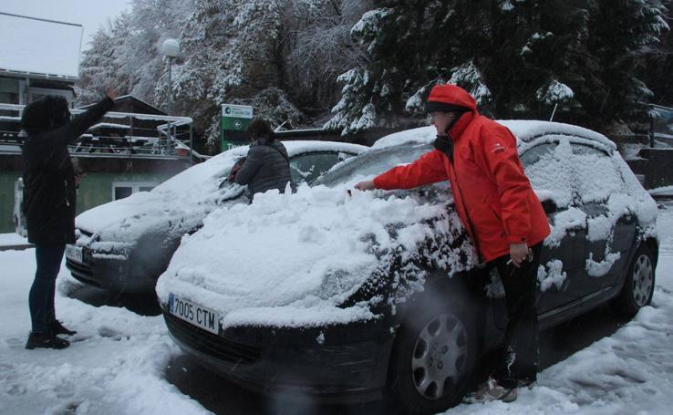 La nieve en Fuente Dé