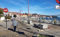 Obras Públicas mejora los muelles de los puertos pesquero y deportivo de San Vicente