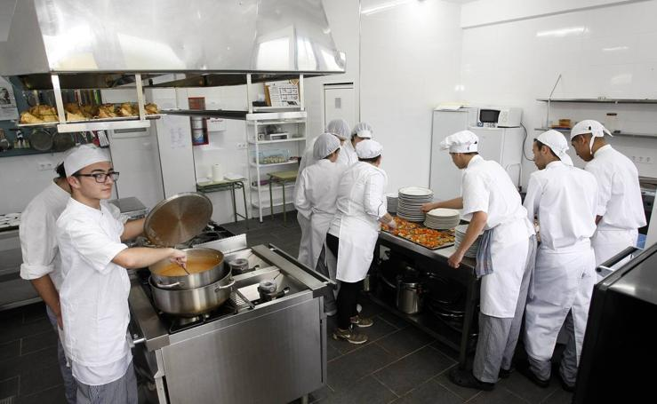 Nueva cocina para los chefs torrelaveguenses del mañana