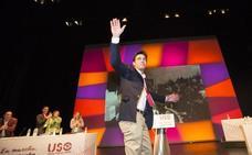 Joaquín Pérez, nuevo secretario general de USO con un apoyo del 99%