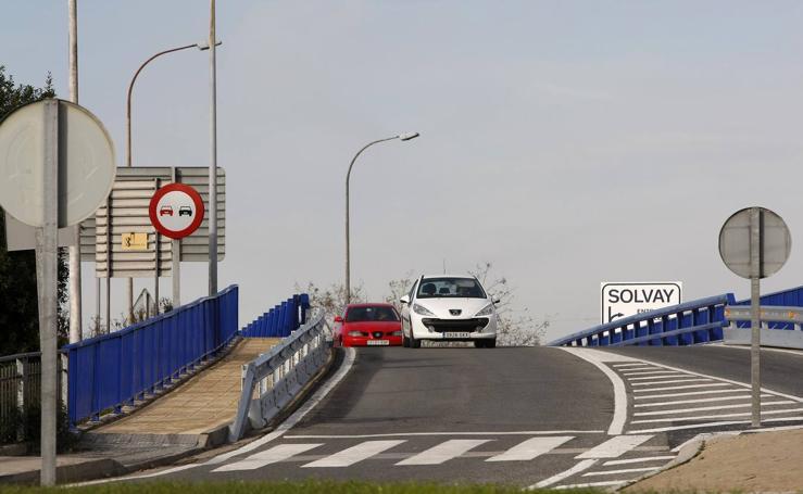 Desaparece el 'punto negro' del puente de Solvay