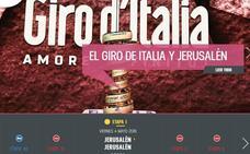 El Giro, presionado por Israel, deja de referirse a «Jerusalén-Oeste»