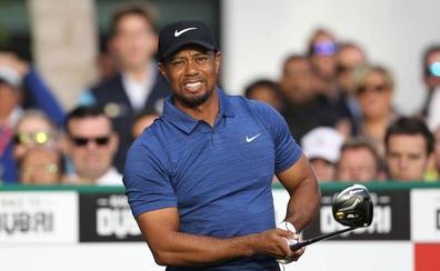 Tiger Woods reaparece con una ronda de 69 (-3) en Bahamas