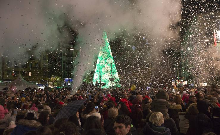 Santander brilla con sus luces de Navidad