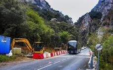 El Desfiladero de la Hermida sufrirá cortes en enero y febrero