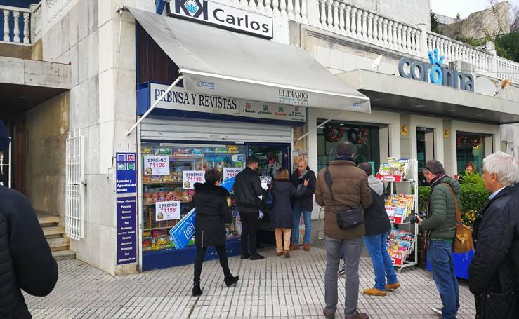 ¡El Gordo ha caído en Santander!