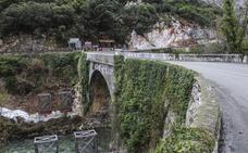 El ensanche del puente de Lebeña inicia la mejora del Desfiladero