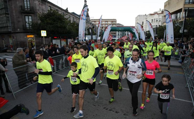 2.000 personas se vuelcan con la San Silvestre Solidaria de Torrelavega