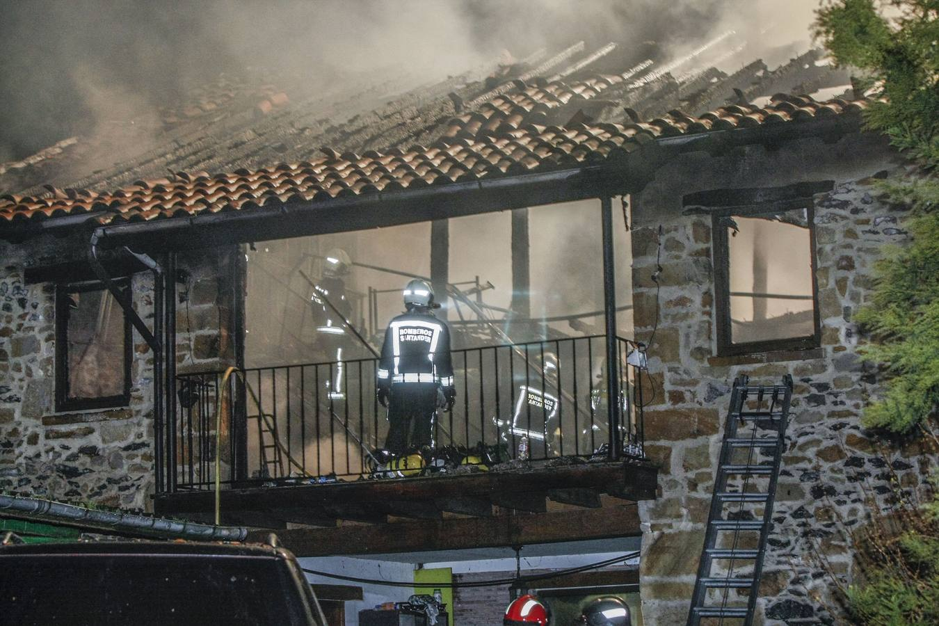Muere un hombre en el incendio de su casa de Gama