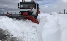 Se normaliza la circulación por la A-67, tras una madrugada complicada por la nieve