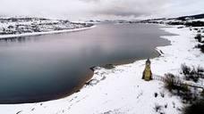 El embalse del Ebro aumenta un 2% sus reservas por las lluvias y el deshielo