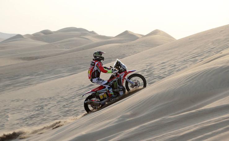 Las mejores imágenes de la tercera etapa del Dakar