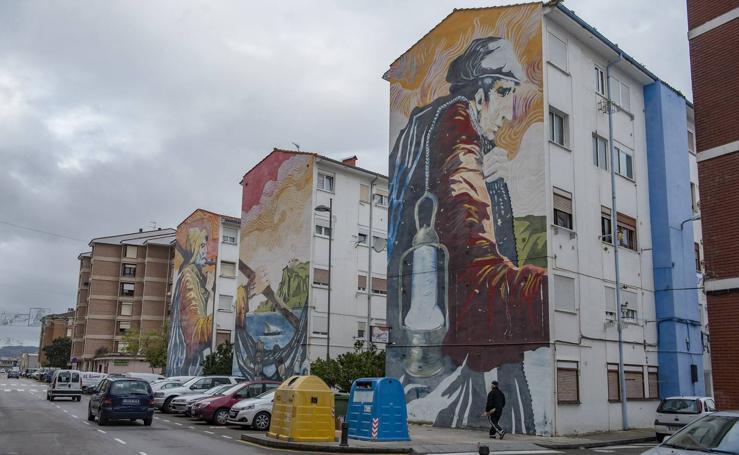 Arte urbano en la villa de Santoña