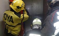 Herido un trabajador atrapado por un ascensor en Castro